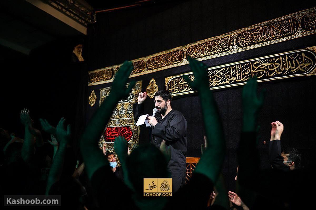 سید مجید بنی فاطمه مناجات با امام حسین (ع) زمینه