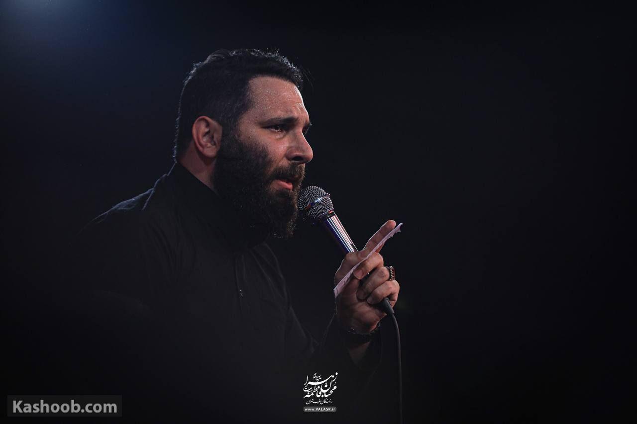 محمد حسین حدادیان مناجات با امام زمان (عج)