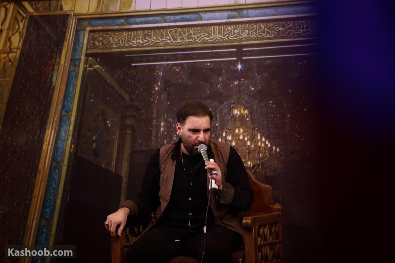 امیر کرمانشاهی مناجات با امام حسین (ع) زمینه