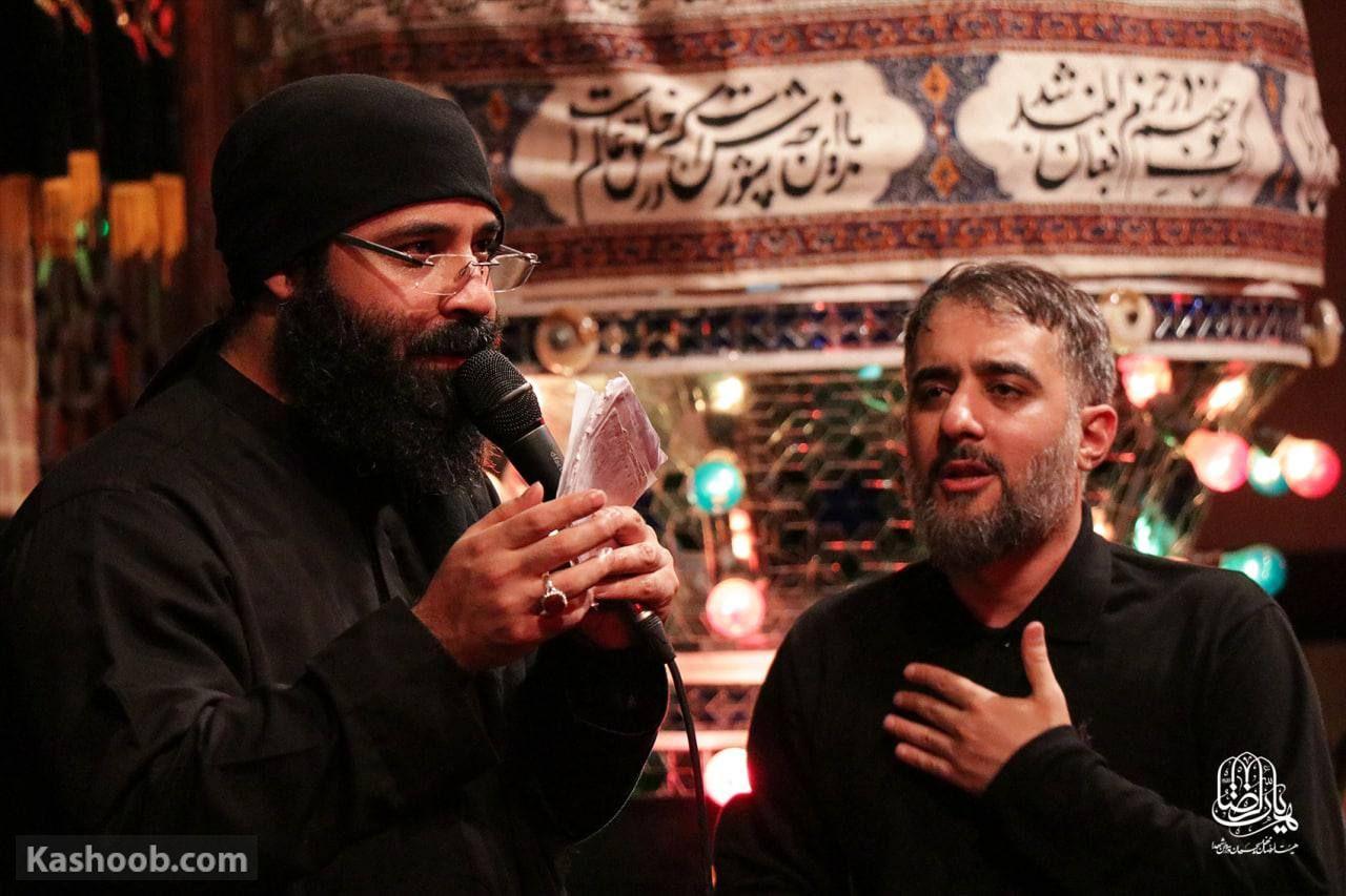 محمد حسین پویانفر وفات حضرت ام البنین (س)