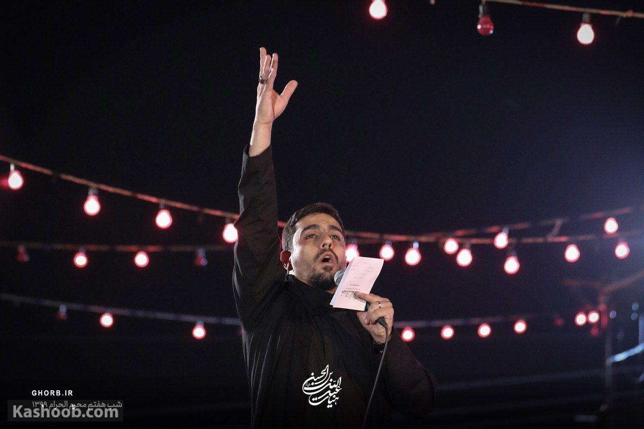 حنیف طاهری شب هشتم محرم