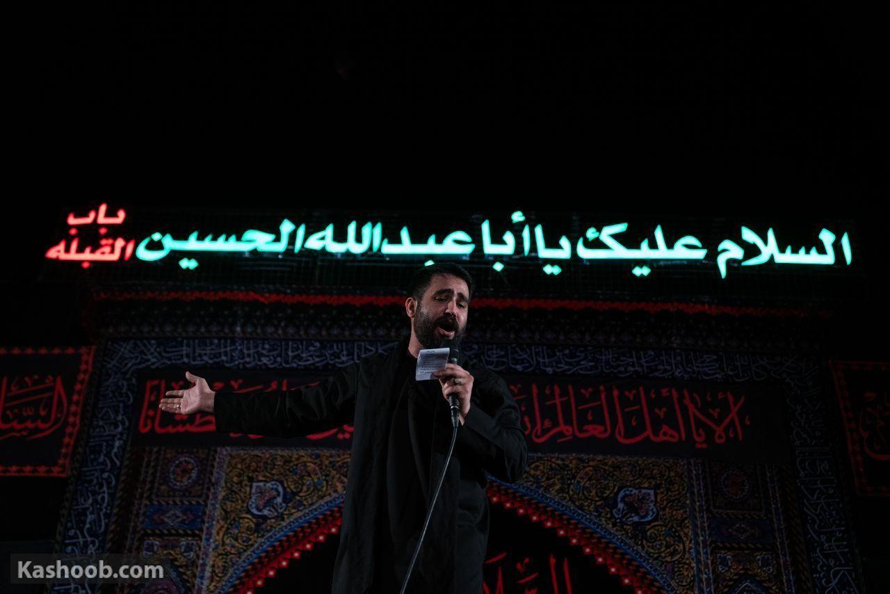حسین طاهری شب دوم محرم زمزمه