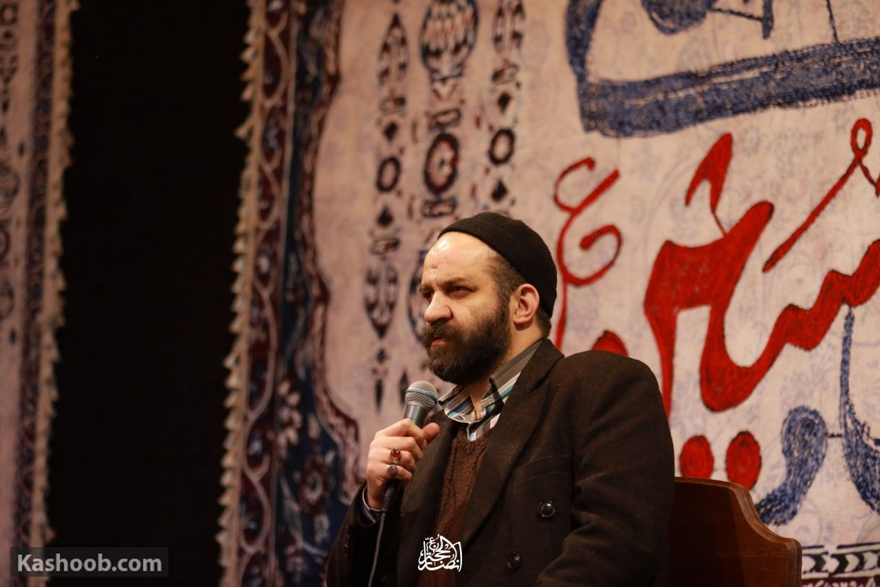 محمد سهرابی ولادت حضرت علی (ع) شعر خوانی