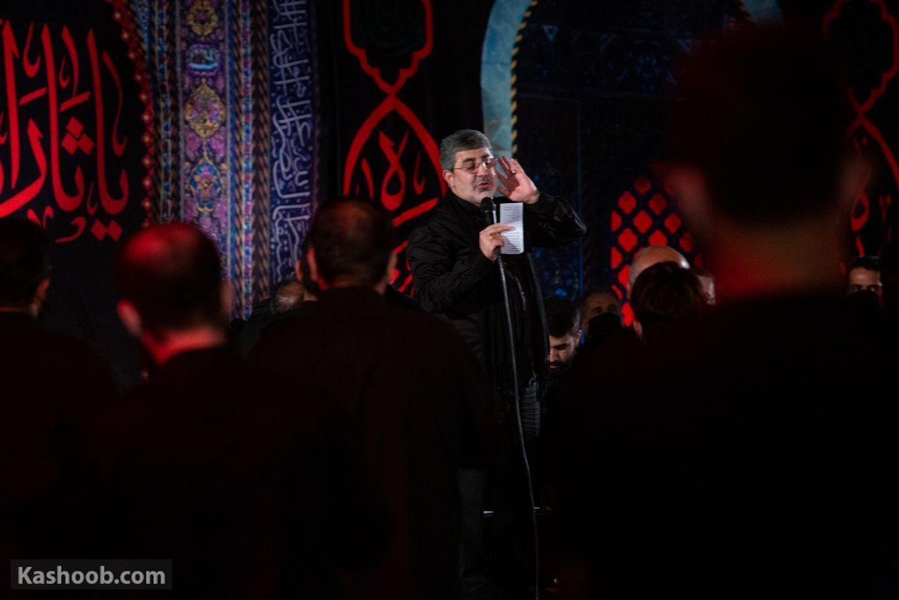 حاج محمدرضا طاهری شب سوم محرم