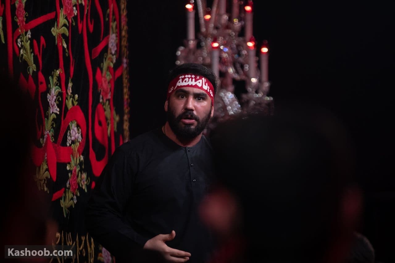 حسین طاهری شهادت حاج قاسم سلیمانی رجز