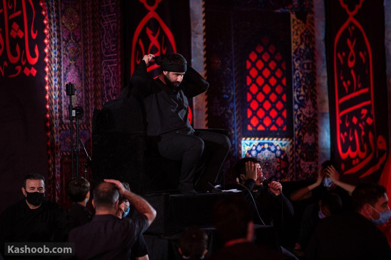 حسین طاهری شب چهارم محرم شور